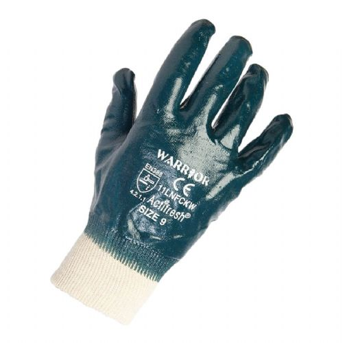 Warrior Lightweight Nitrile Gloves - 12 Pairs